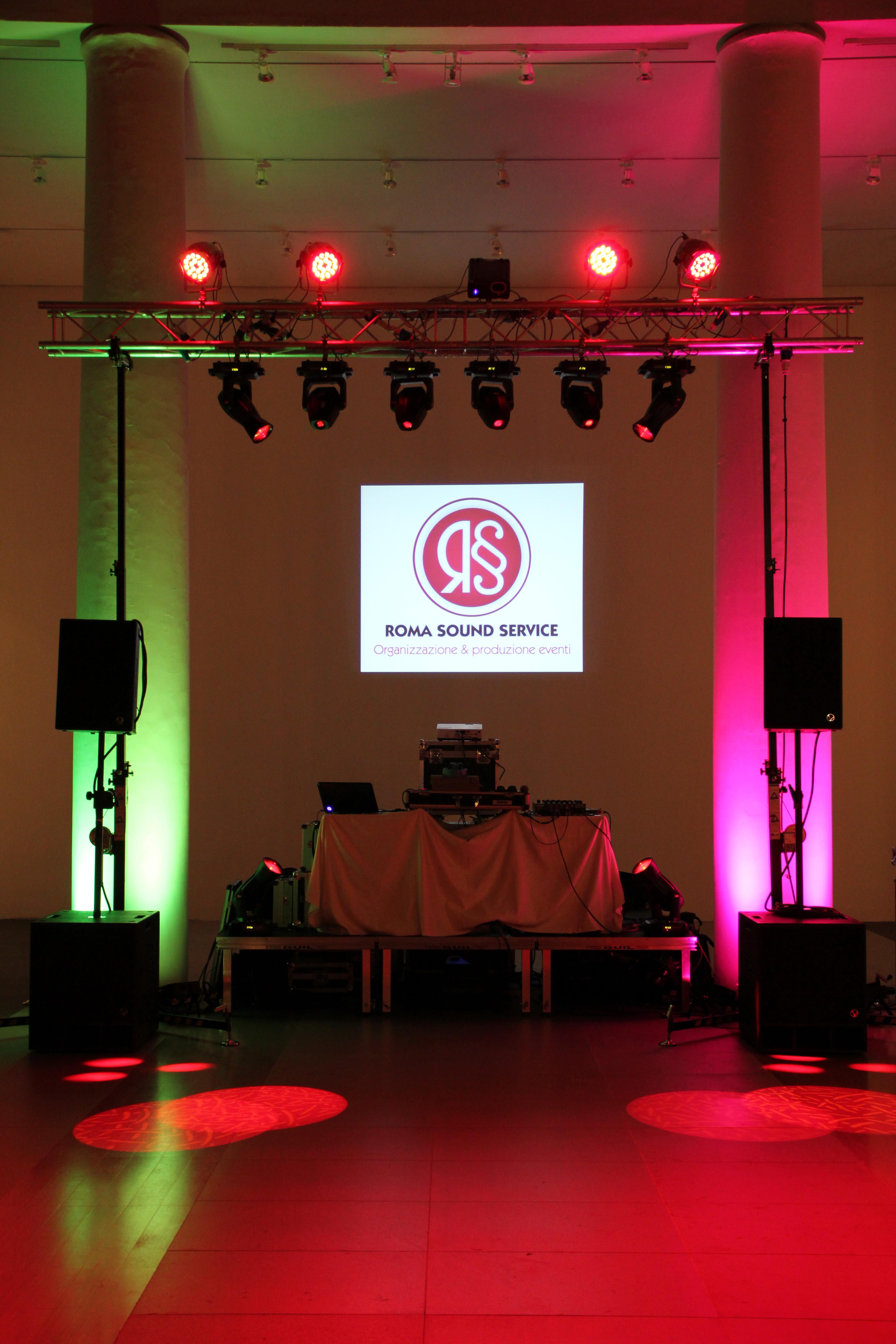 Affitto luci per locali feste ed eventi roma noleggio luci - Impianti audio per casa ...